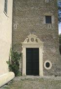 Castello della Cecchignola, Roma Cappella barocca della torre nord
